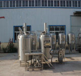 Planta micro de la cervecería, pequeño equipo de la cervecería, cerveza que hace la cadena de producción cervecería de la cerveza