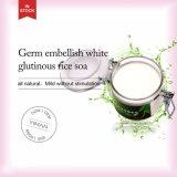 O germe por atacado do ODM do OEM Embellish o sabão glutinoso branco do arroz para a pele do controle do petróleo que Whitening a remoção da acne