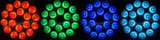 indicatori luminosi esterni della fase di 18PCS 12W PAR64 LED
