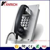 Resistente al agua de teléfono de la construcción de la puerta de entrada de audio/vídeo sobre IP sistemas