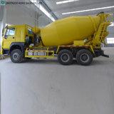 Sinotruk 6m3、8m3の9m3具体的なミキサーのトラックの価格