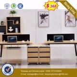 Poste de travail en bois moderne de Tableau d'ordinateur de meubles de bureau (HX-8N0220)