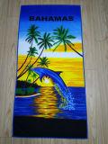 Низкая цена рекламных ткань из микроволокна полотенце на пляже