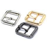 La boucle de courroie centrale en alliage de zinc de Pin de boucle de barre en métal chaud de vente pour le vêtement chausse les sacs à main (YK914)