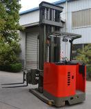 El deber de la luz eléctrica de alimentación de batería de 1500kg 3 vías carretillas