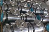 Valvola a sfera fissa bidirezionale duplex del perno di articolazione dell'acciaio inossidabile F51