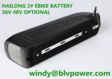 Batteria all'ingrosso di vendita superiore di Downtube della E-Bici del pacchetto delle batterie con litio 48V14ah