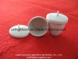 Premier creuset en porcelaine glaçant réfractaire de vente pour le laboratoire