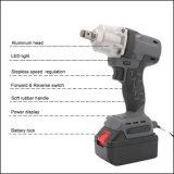 전문가 18V 코드가 없는 재충전용 배터리 전원을 사용하는 무브러시 충격 렌치