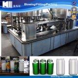 Maquinaria de relleno de la poder de estaño del animal doméstico para las bebidas carbónicas del jugo
