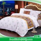 高品質の贅沢な綿のホテルの大人は寝具セットを印刷した