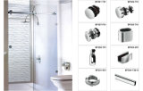 Un design simple fournisseur de Xiamen Frameless la quincaillerie de porte de douche