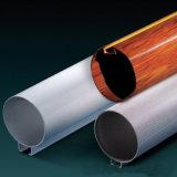 Soffitto rotondo del tubo, soffitto di alluminio del deflettore per il sistema del controsoffitto