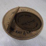 De ronde die Onderlegger voor glazen van de Houder van de Kop, van Cork wordt gemaakt