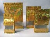 Flache Unterseiten-Beutel-Hologramm-Ende-verpackenbeutel