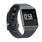 Cinta da faixa de relógio do silicone de TPU para Fitbit iónico