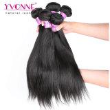 Colore naturale 1b dei capelli diritti del Virgin di Yvonne del tessuto malese non trattato dei capelli