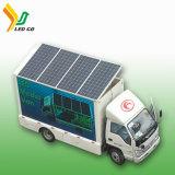 Veicolo autoalimentato solare di vendita caldo di 2017 LED per fare pubblicità