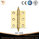 Arm Flat Cabinet and Window Hinge with Crown Head (HG-0002)