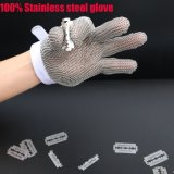 Guanti resistenti tagliati dell'acciaio inossidabile della rete metallica