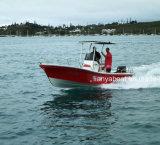 釣のためのLiya 5.8m中国のガラス繊維の外皮のボート