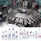 Proyecto de llavero para la línea de embotellamiento completa del agua de vector