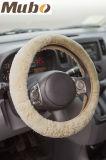 Dekking van het Stuurwiel van de Auto van de Schapehuid van China de Met de hand gemaakte Natuurlijke Australische Merinos