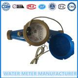 マルチジェット機の水道メーターのためのパルス出力機構の水道メーター