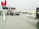 トレーラーを記録するWanhuaブランドによってカスタマイズされる最上質の中国の二重車軸|半材木のトレーラー