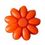 La FDA délivrent un certificat le moulage de gâteau de silicones, grand moulage de gâteau de silicones de forme de chrysanthemum de pétales/moulage de pudding/moulage de silicones crême glacée