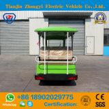 Fabricante chinês 17 lugares turísticos Eléctrico de carro para o turista com certificação CE
