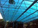 Abrigo de alumínio do carro da telhadura da fibra de vidro para o jardim