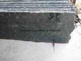 Китай полированной плиткой из гранита зеленого цвета для квадратных
