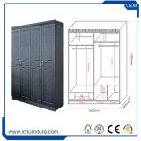 Moderner Art MDF-Schlafzimmerarmoire-Garderoben-Entwurf
