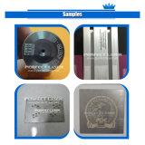 Tipo portátil plástico da máquina de gravura do laser para o material do metal