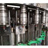 a - riga di riempimento imbottigliante strumentazione dell'acqua pura minerale completa di Z