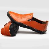 2018 Schoenen van de Mensen van de Schoenen van de Mensen van Pu de Vlakke Toevallige Comfortabele