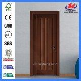 Дверь меламина полого внешнего входа алюминиевая деревянная (JHK-MD11)