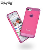 Аргументы за Apple iPhone8 задней стороны обложки ясной розовой двойной Сотрясать-Абсорбциы гибридное мягкое TPU PC слоя трудной защитной плюс