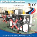 PVC/PP/PE/EVA Rohr, das Maschine, Draht-/Kabel-schützende Rohr-Strangpresßling-Zeile herstellt