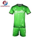 متأخّر تصميم [منس] جرسيّ كرة قدم تصعيد ملابس رياضيّة صنع وفقا لطلب الزّبون كرة قدم جرسيّ