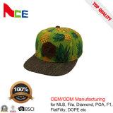 Qualitäts-Baumwollflache Rand-Hysteresen-Hüte mit Metallfaltenbildung