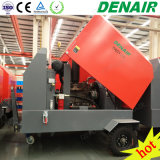 265 cfm móviles de perforación de rocas/Móvil energía diesel compresor de aire de tornillo