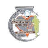 La competencia Custom Premio 3D de la medalla de Deportes de la ejecución de metal con cinta