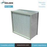Cleanroom H14 Glassfiber/ULPA HEPA filtro de panel