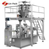 Машина шоколада мешка застежки -молнии высокого качества фабрики упаковывая (заполняя и герметизируя)