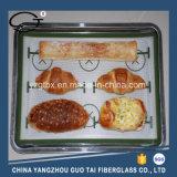 測定を用いるカスタム多彩なシリコーンのベーキングオーブンのマット