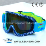 Nuevo diseño Professional Anti-Fog gafas de nieve de corte UV