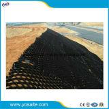 Plástico de HDPE de alta densidad para ferrocarril Subgrade Geocells