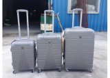 Buntes 3 die Stück ABS Laufkatze-Gepäck stellte das 4 Rad-Eisen-Laufkatze mit einem Reißverschluss ein